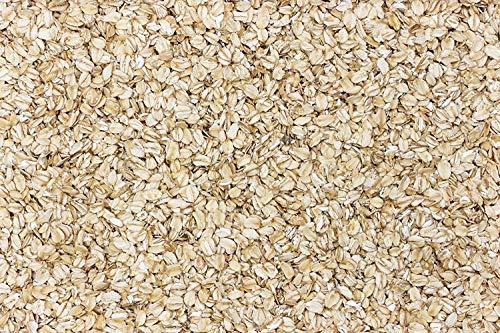 Copos de Avena en Pack de 2 kg | Semillas de Cereal De Avena Suave en Copos Gruesos | Sin Azucar | Copos Enteros ideales Para Combinar en Muesli y Recetas | Apto para Veganos | Dorimed