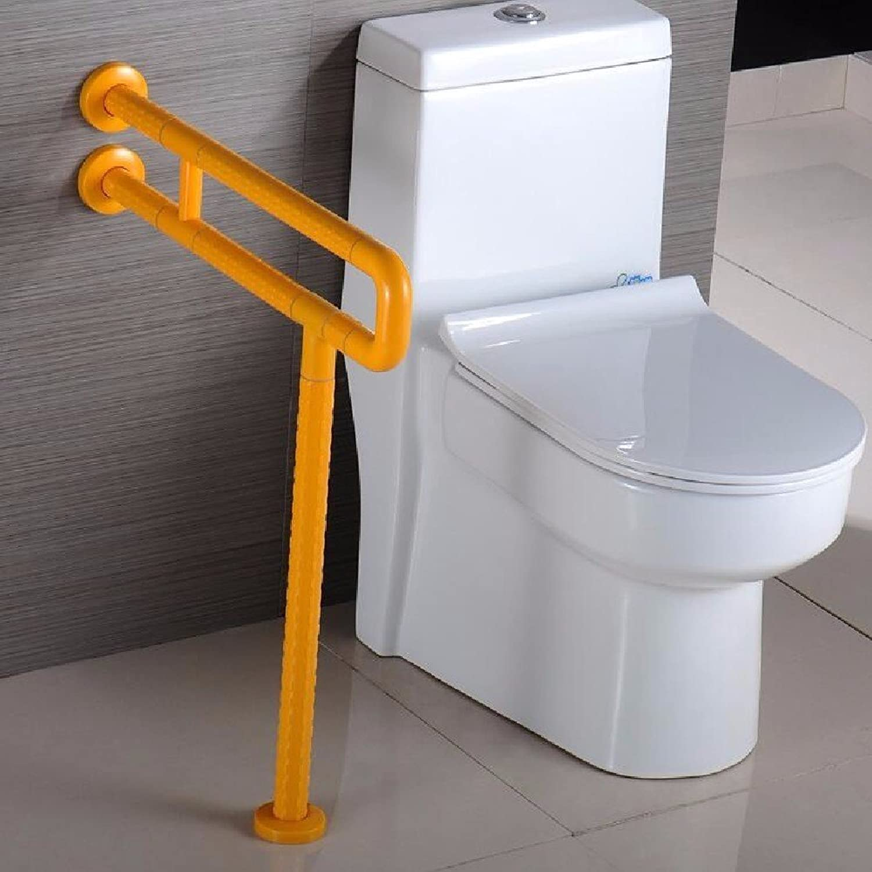 WAWZJ Handrail Toilet Bar Handrail Elderly Disabled Bathroom Safety Free Stainless Steel Antiskid Armrest,D