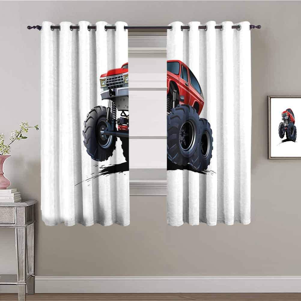 Truck Black Out Curtain Panels for Vehi Super sale Road Bedroom Extreme Off Nashville-Davidson Mall