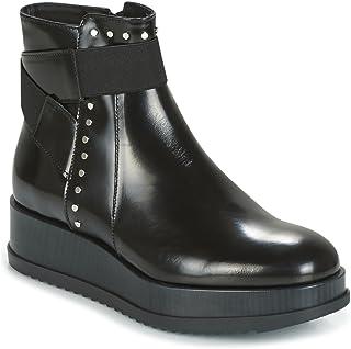 Tosca Blu Civetta Abrasivato Stivaletti/Stivali Donne Nero Stivaletti Shoes