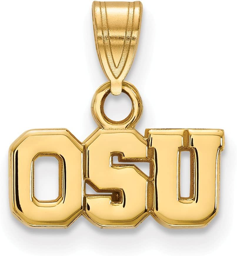 Ohio State Small Import 1 2 Pendant 10k Gold Yellow Inch New Shipping Free