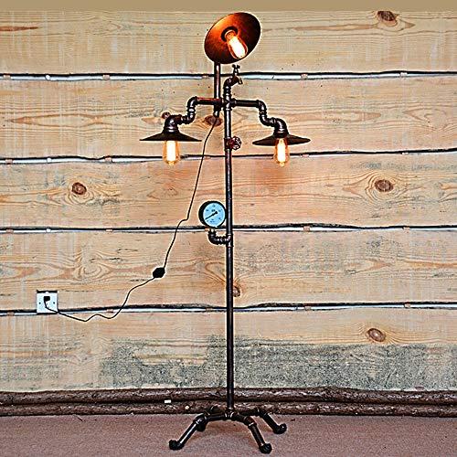 Staande lamp, industriële, wind, retro, bar, tentoonstellingsruimte, café, kantoor, thuis, waterleiding, lamp