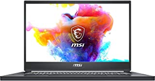 """MSI Creator 15 A10SFT-053 15.6"""" FHD Finger Touch panel, 60Hz 72%NTS Thin and Light Professional Laptop Intel Core i7-10875..."""