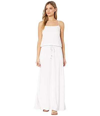 Polo Ralph Lauren Terry Maxi Rope Dress Cover-Up (White) Women