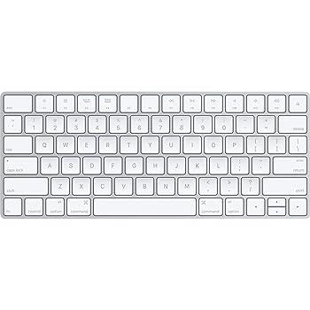 Apple Wireless Magic Keyboard 2, Silver (MLA22LL/A) - (Renewed)