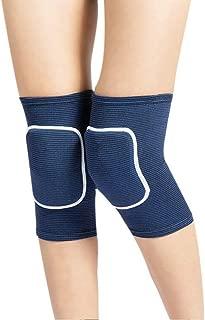 BabyPrice Kids Knee Pad, Anti-Slip Padded Sponge Knee Brace Breathable Flexible Elastic Knee Support for Football Volleyball Dance Skating Basketball Sports
