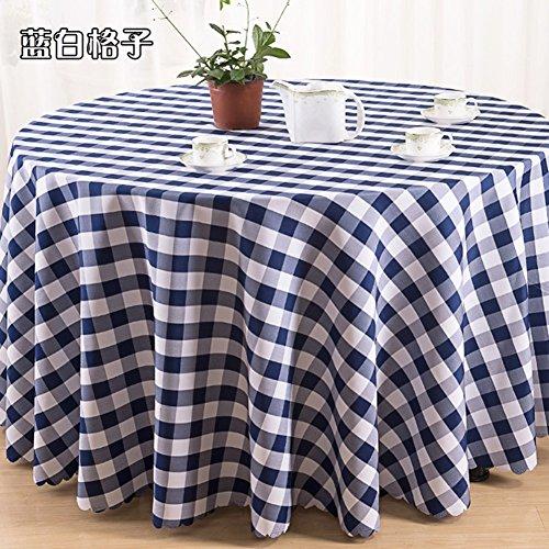 PVC Table Nappe pique-nique carreaux vichy bleu marine lavables plastique protecteur en vinyle
