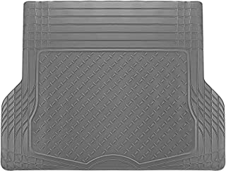 Motorup America Auto Floor Mats (Trunk Cargo Liner) All Season Rubber - Fits Select Vehicles Car Truck Van SUV, Gray