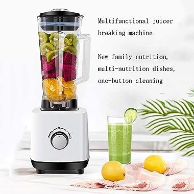 LKNJLL Slow Juicer,Juicer Machine for Vegetables and Fruits,Portable Vertical Cold Press Juicer,BPA-free Masticating Juicer W