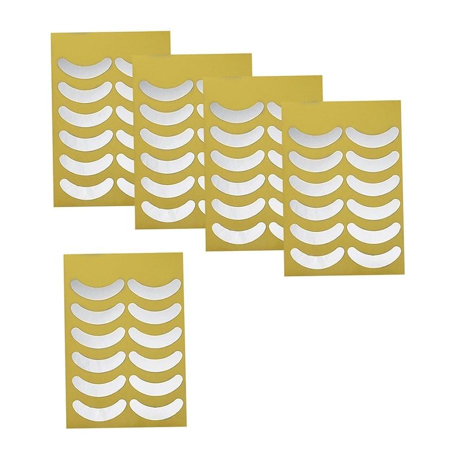 マーケティング解く繕うKesoto 化粧用 メイクアップ アイシャドー ステッカー アイシャドーシールド アイメイク 目の下に貼る 目元 ケア 便利 化粧ツー 目に合わせる 5枚