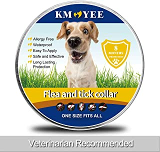 KMOYEE Collar for Dogs, 8 Months Protection, Adjustable Design-One Size Fits All Dogs.