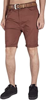 Men's Flat Front Stretch Chino Shorts