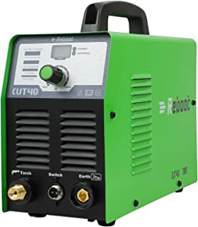 Reboot Plasma Cutter 40 Amps Portable 110V IGBT CUT40 Air Plasma Cutting Machine 2/5in Clean Cut High Frequency Inverter D...