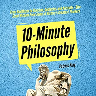 10-Minute Philosophy audiobook cover art