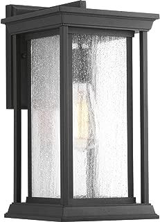 Progress Lighting P5610-31 Transitional One Light Wall Lantern from Endicott Collection in Black Finish