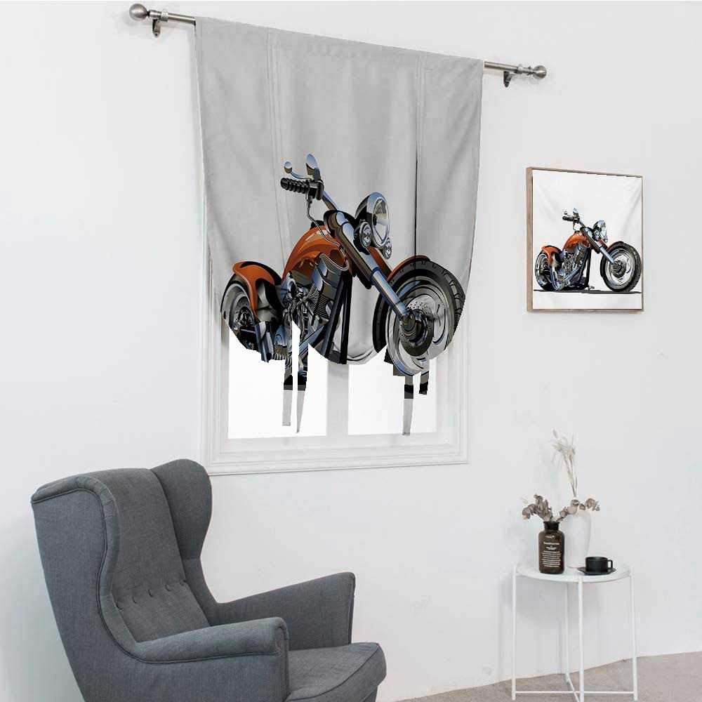 Industry No. 1 GugeABC Motorcycle Tampa Mall Blackout Curtain M Adventure Motorbike Image