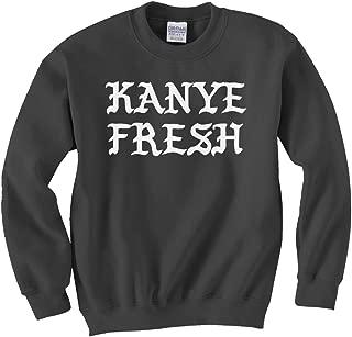Indica Plateau Kanye Fresh Unisex Kids Sweatshirt