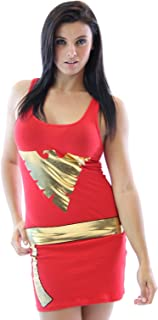 Marvel X-Men Dark Phoenix Red Juniors Costume Tunic Tank Dress