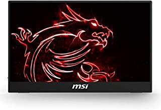 "MSI Optix MAG161V - Monitor portátil de 15.6"", FullHD 60Hz (1920 x 1080, pantalla plana, panel IPS, ratio 16:9, brillo 180..."