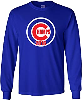 The Silo Long Sleeve Blue Chicago Champs T-Shirt