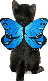 Cat Dog Butterfly Wings for Halloween Party Decoration, Halloween Dog Cat Costume, Puppy Cat Dress Up Accessories
