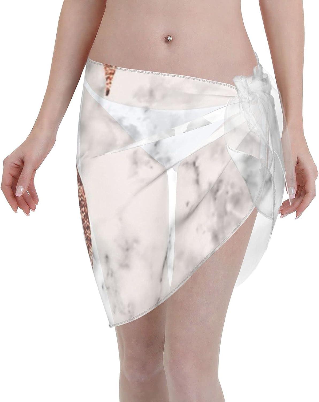 2053 pants Monogram Rose Marble S Women Chiffon Beach Cover ups Beach Swimsuit Wrap Skirt wrap Bathing Suits for Women