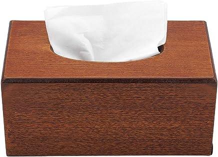 Sinzong Papierhandtuchspender Startseite Abdeckung Gefrostet Tissue-Box Kreative Heimat Wohnzimmer Einfache Serviettenschale Tablett Rund