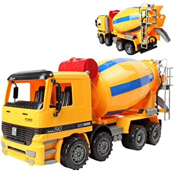 Think Gizmos Friction Toys for Boys & Girls Cement Mixer TG640-C ...