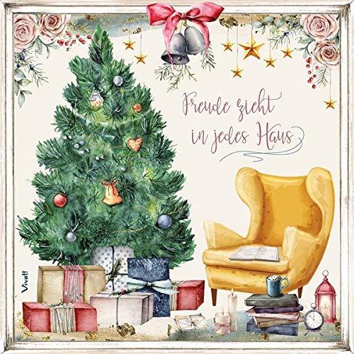 Zettel-Adventskalender: »Freude zieht in jedes Haus«