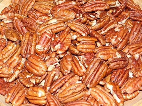 Nueces Pecanas sin Cáscara |1 Kg de Nueces Pecanas de Origen Natural | Sin Sal | Crudas | No tostadas | Fruto Seco y En Mitades | Veganos y Vegetarianos
