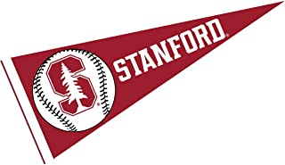 College Flags & Banners Co. Stanford Cardinal Baseball Full Size Felt Pennant