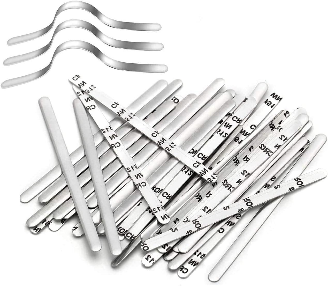 Nose Bridge OFFicial site Strips Aluminum Very popular! C Metal Adjustable Strip