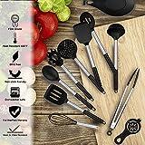 Zoom IMG-2 charlemain utensili cucina silicone 35