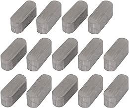 4Stk Edelstahl 304 lieferbar Schlüsselhalter runde beendete 10mm x 5mm x 5mm