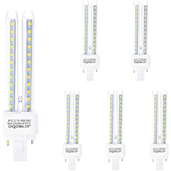 Pack 5 Bombillas Aigostar 002793 LED PLC 2U 11W Bombilla LED Maiz ...