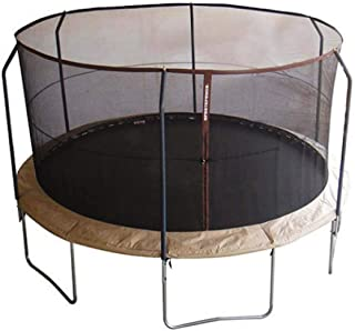 SkyBound 14 Foot Replacement Trampoline Net (Compatible with BouncePro & SportsPower Trampolines with 6 Poles and a Top Ring)