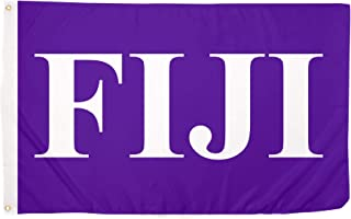 Phi Gamma Delta Letter Fraternity Flag Greek Letter Use as a Banner Large 3 x 5 Feet Sign Decor Fiji