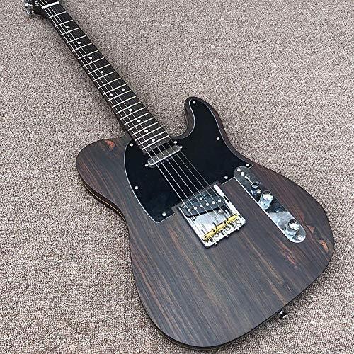 CJWSLYT Guitarra Guitarra Eléctrica De Guitarra Y Cuello De...