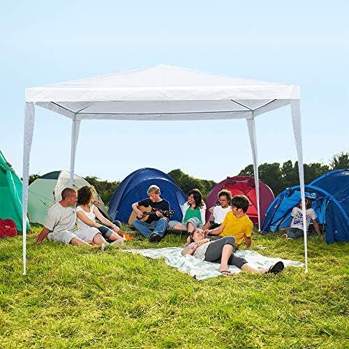 La fete 10 X 10 Outdoor Tent Lightweight Canopy Tent Portable Wedding Tent Patio Tent Garden product image
