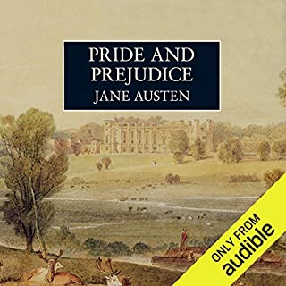 Pride and Prejudice [Audible Studios] audiobook cover art