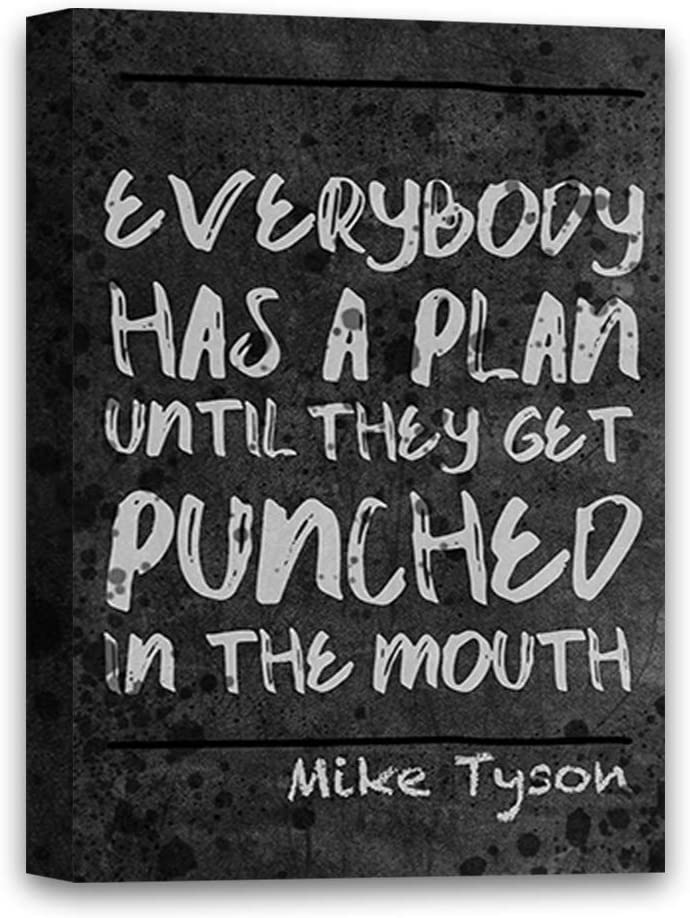 Inspirational Poster Gift Top Quote Mike Tyson Jumper American Former Boxer