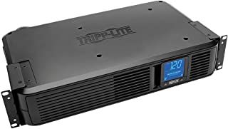 Tripp Lite 1500VA Smart UPS Battery Back Up, 900W Rack-Mount/Tower, LCD, AVR, USB, DB9, 3 Year Warranty & $250,000 Insurance (SMART1500LCD)