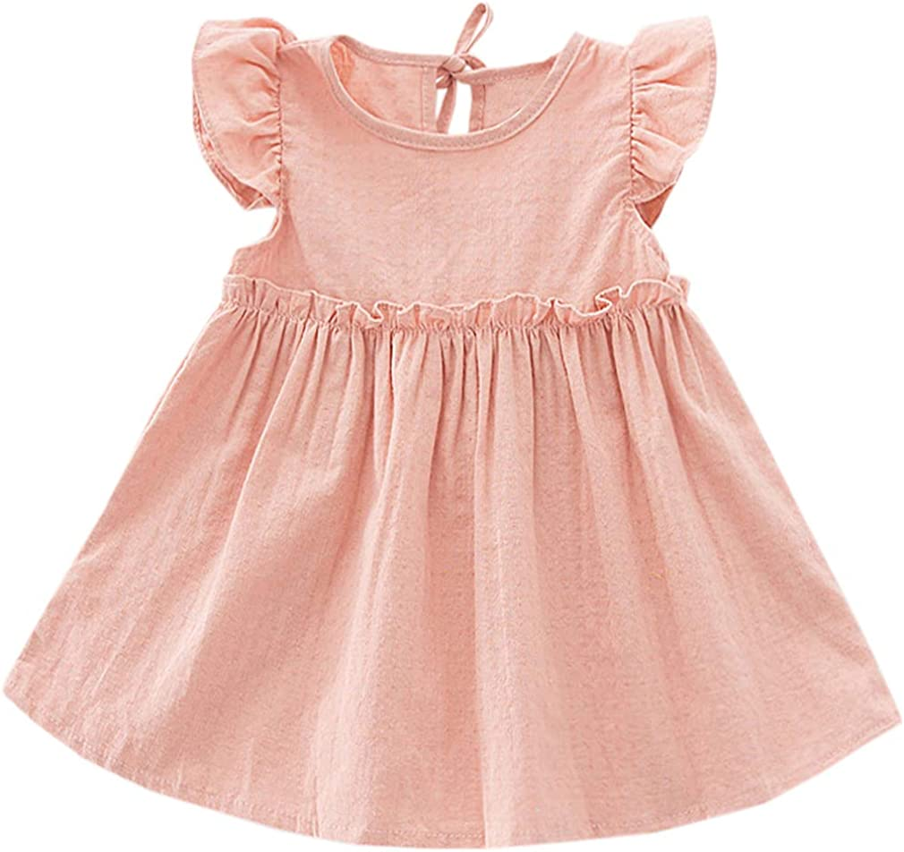Niyage Toddler Baby Girls Cotton Industry No. 1 Sundre Bargain sale Swing Tunic Casual Dress