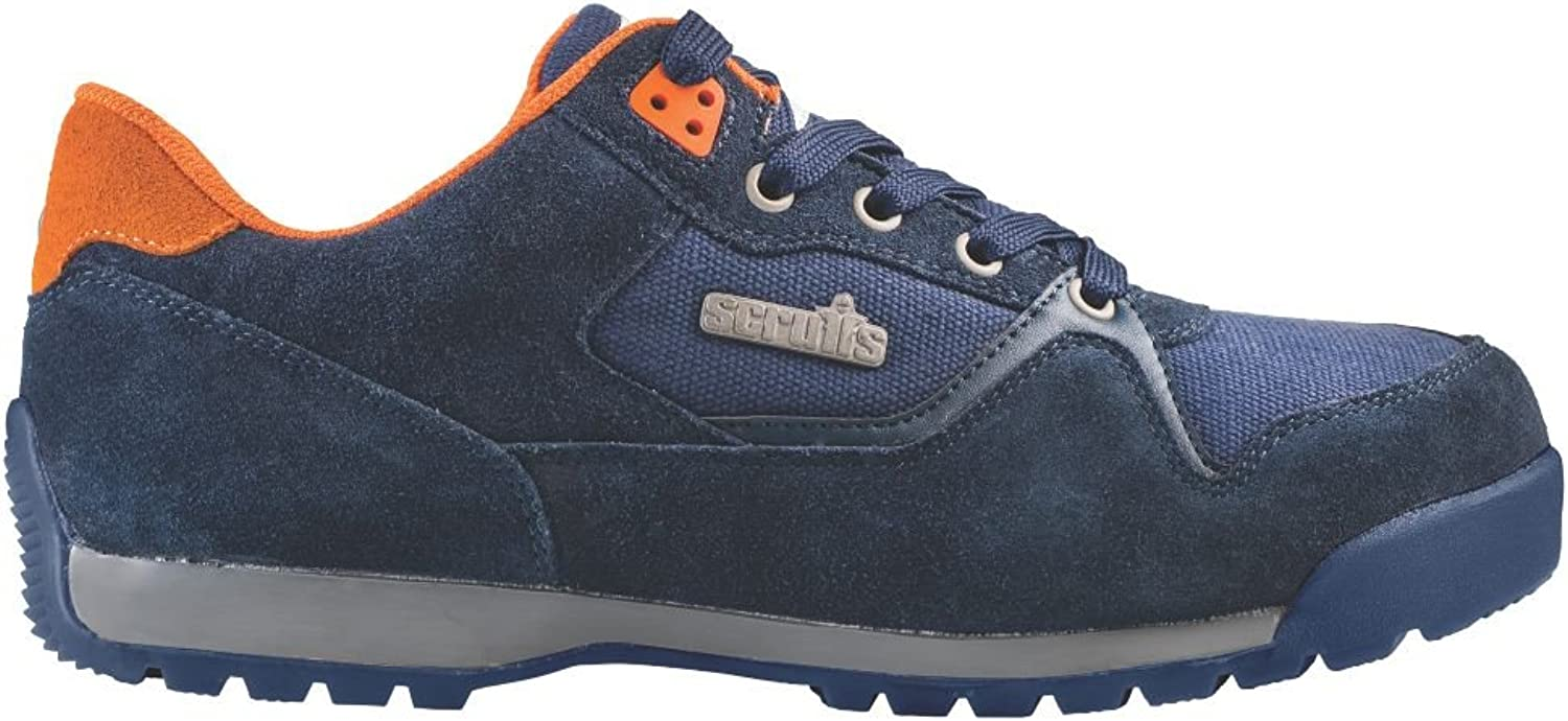 Scruffs Halo 2 Safety Trainers Navy Size 12