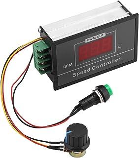 Sponsored Ad - DC Motor Controller, 6-60V 12V 24V 36V 48V PWM Adjustable Digital Display DC Motor Speed Controller 6-60V S...