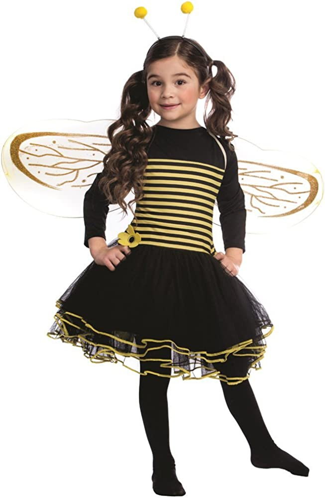 Dress Up America Bumblebee Costume - Bee Bumble for Super special price Girls Selling rankings