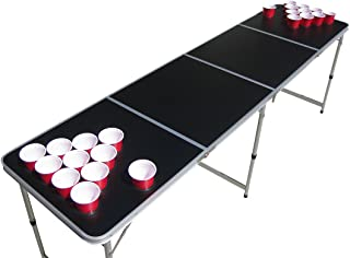 The Pong Squad Blank Beer Pong Table with Holes