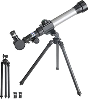 Telescopes for Astronomy for Beginner - -20X / 30X / 40X Astronomical Telescope with Adjustable Tripod 60Mm HD Refractor T...