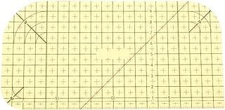 (ライチ) Lychee アイロン定規 高温に耐える 縫製 キルティング 仕立て 裁縫