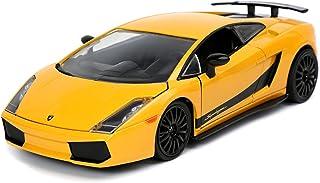 Jada 253203067 Fast & Furious Lamborghini Gallardo 1:24 Scale DIE-CAST Replica CAR, Yellow